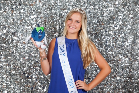 2018 Blueberry Fest Queen